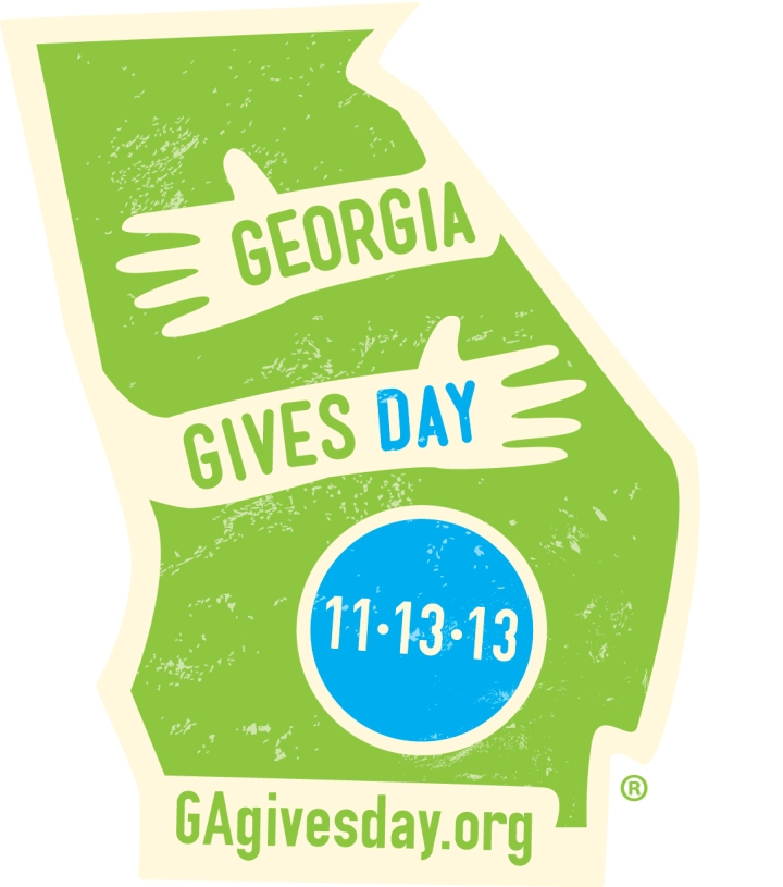 GA Gives Day is November 13th this year!